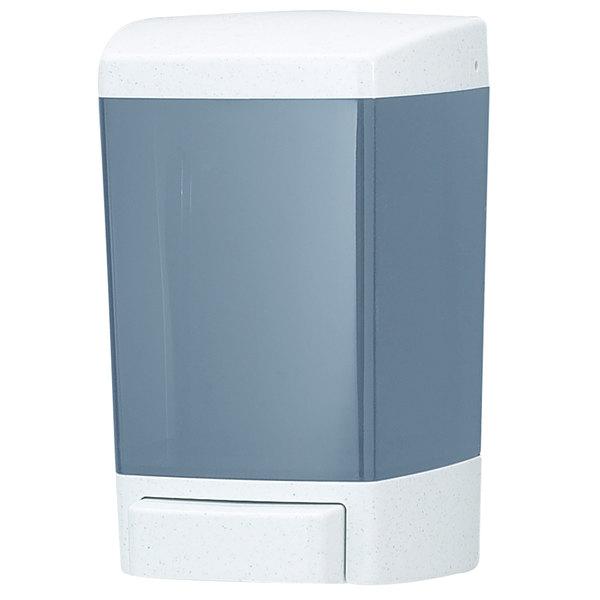San Jamar SF46TBL 46 oz. Bulk Foaming Soap Dispenser - Arctic Blue