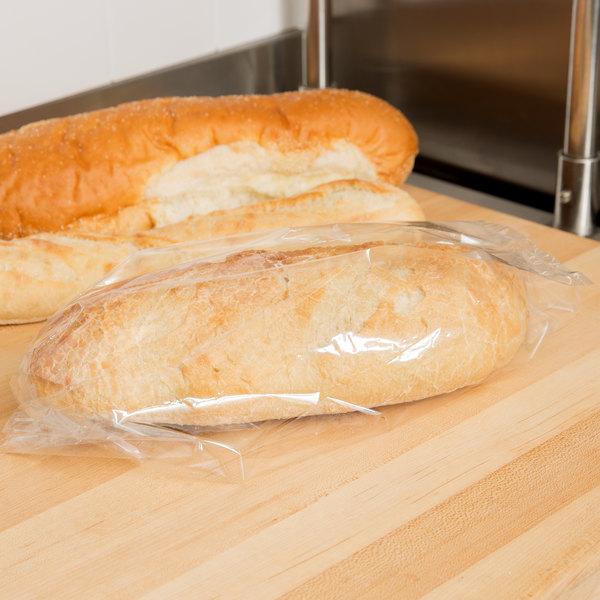 """LK Packaging P12G054515 Plastic Food Bag 5"""" x 4 1/2"""" x 15"""" - 1000/Box Main Image 3"""