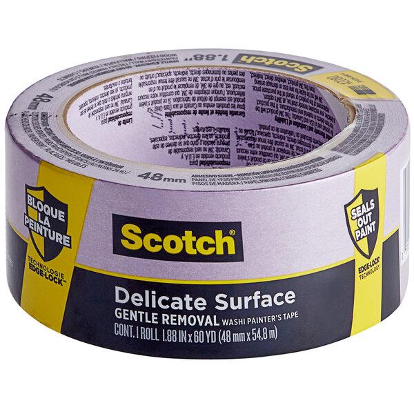 """3M Scotch 1 7/8"""" x 60 Yards Purple Delicate Surface Painter's Tape 2080-24EC Main Image 1"""