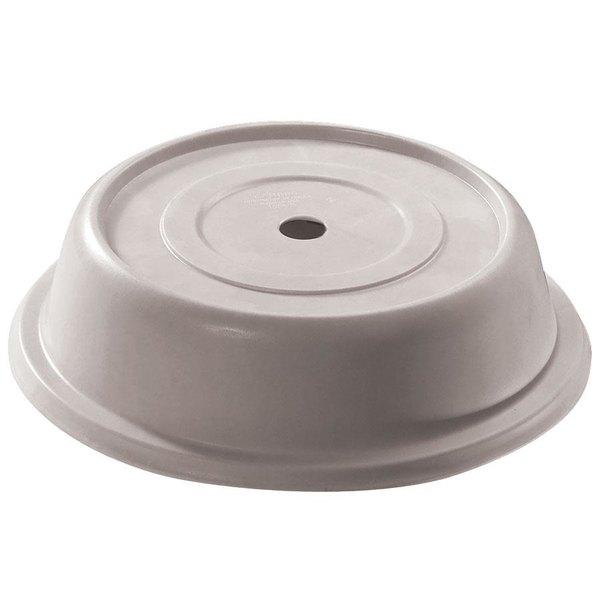 "Cambro 95VS101 Versa Camcover 9 5/16"" Antique Parchment Round Plate Cover - 12/Case"
