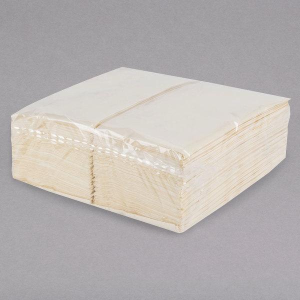 Ecru Ivory Paper Dinner Napkin Choice 2 Ply 15 X 17 125 Pack