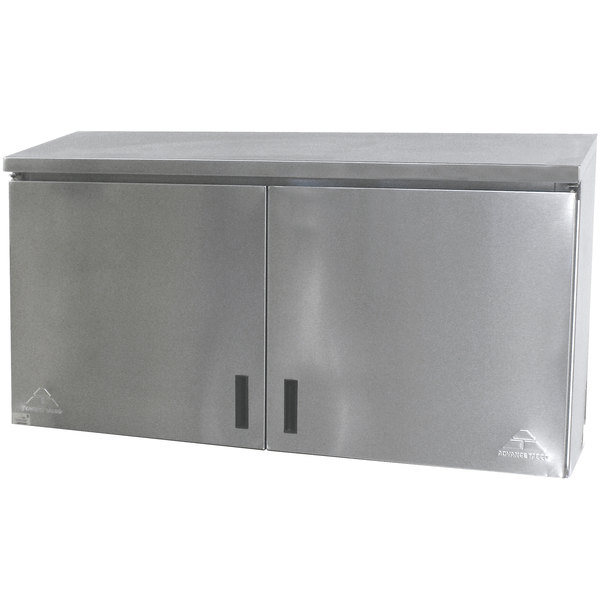 """Advance Tabco WCH-15-48 48"""" Wall Cabinet with Hinged Doors"""