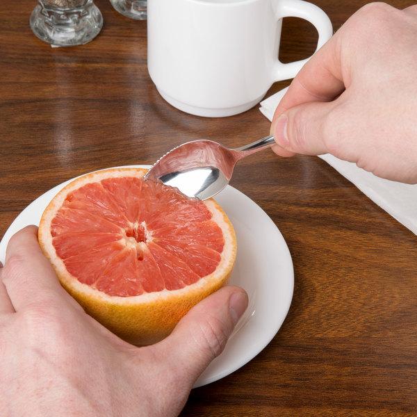 Windsor Flatware Stainless Steel Grapefruit Spoon - 12/Case