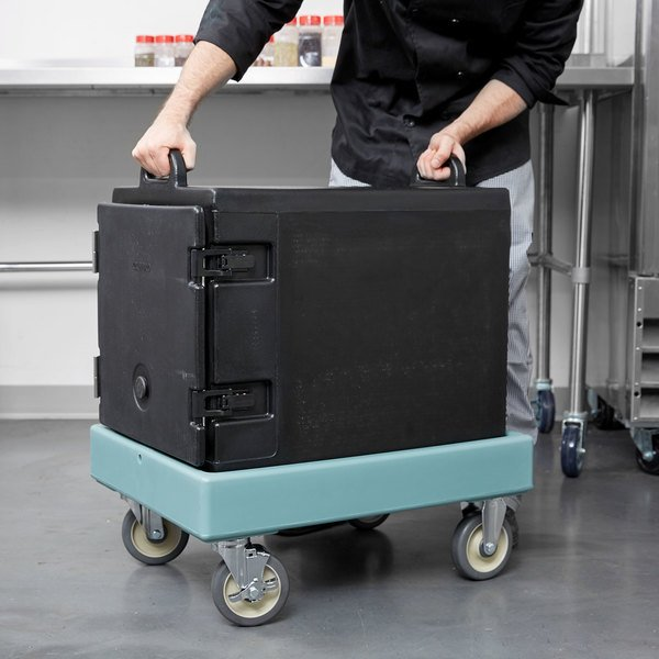 Cambro CD300 Slate Blue Camdolly for Cambro Camtainers and Camcarriers Main Image 6