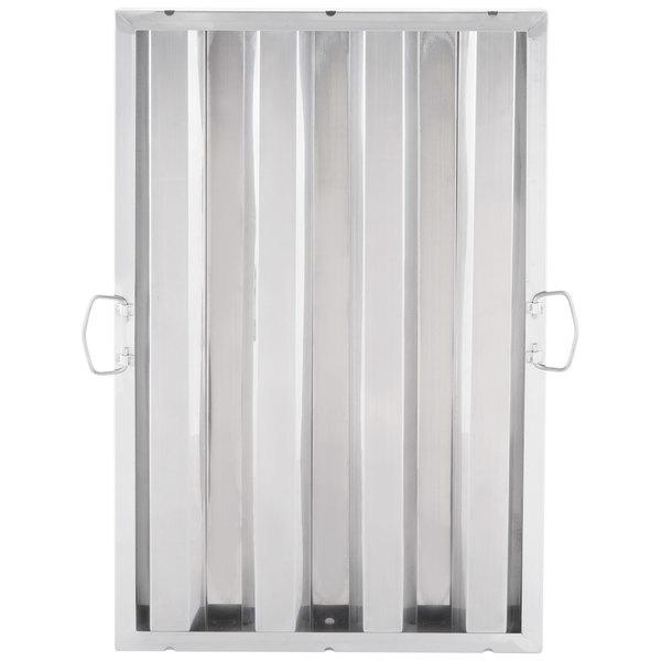 "Regency 25"" x 16"" x 2"" Stainless Steel Hood Filter"