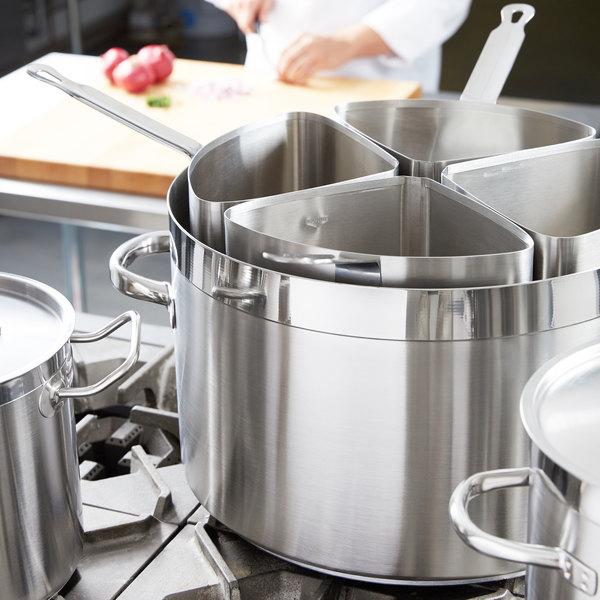 Vollrath 3159 Centurion 7 1/2 Qt. Pasta Insert Set for 3208 Sauce Pot - 4/Set Main Image 9