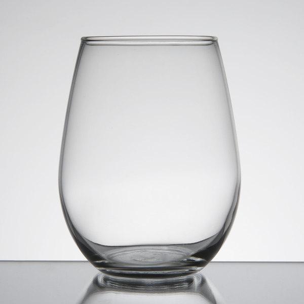 Libbey 217 12 oz. Customizable Stemless White Wine Glass - 12/Case