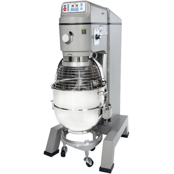 Globe SP80PL Gear Driven 80 Qt. Commercial Planetary Floor Mixer - 208V, 3 hp Main Image 1