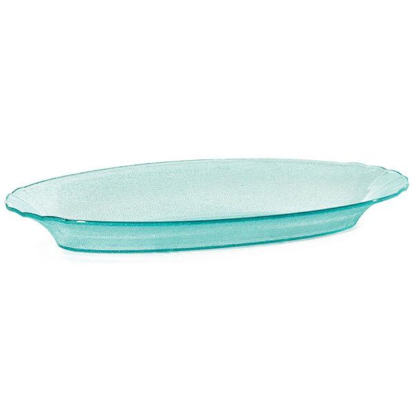 GET HI-2034-JA Cache 6 Qt. Jade Oval Polycarbonate Bowl - 3/Case