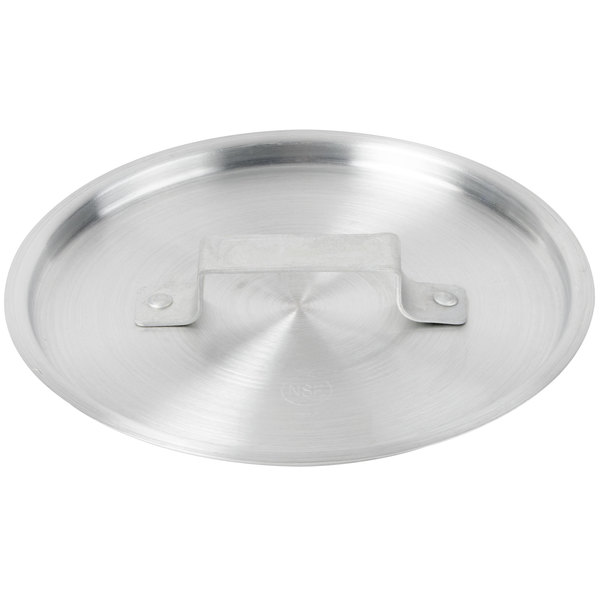 "9"" Aluminum Pot / Pan Cover for 4.5 Qt. Tapered Sauce Pan"