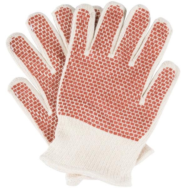 San Jamar ML5000 Hot Mill Knit Gloves - 2/Pack