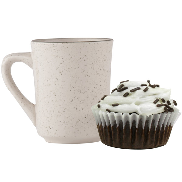 """White Fluted Baking Cup 2"""" x 1 3/8"""" - 1000/Pack Main Image 2"""
