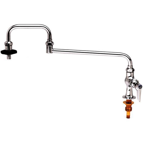 "T&S B-0590 18"" Deck Mounted Pot Filler Faucet"