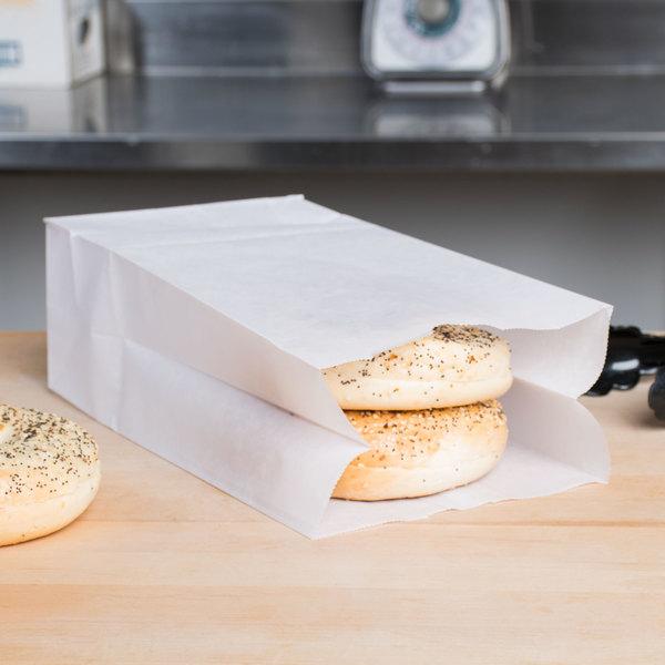 8 lb. Waxed Paper Bag - 1000/Case