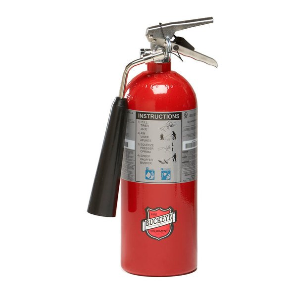 Buckeye 5 lb. Carbon Dioxide BC Fire Extinguisher - Rechargeable - UL Rating 5-B:C Main Image 1