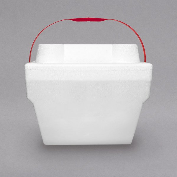 "Large Foam Cooler with Handle - 14 1/2"" x 11 7/8"""