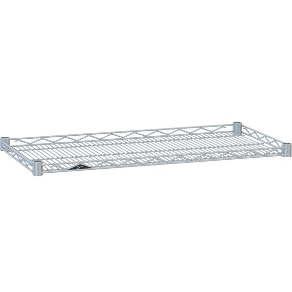"""Metro HDM2424BR Super Erecta Brite Drop Mat Wire Shelf - 24"""" x 24"""""""
