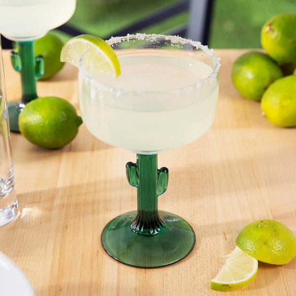 Libbey 3619JS 12 oz. Cactus Margarita Glass - 12/Case