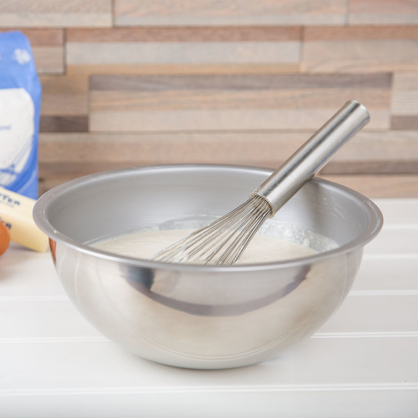 Vollrath 69040 4 Qt. Heavy Duty Stainless Steel Mixing Bowl