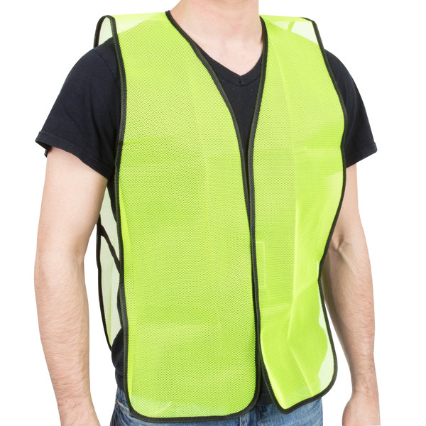 Workplace Safety Supplies Reflective Vest Sanitation Building Construction Mesh Vest For Fast Shipping