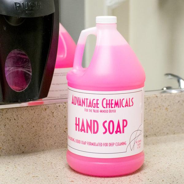 Advantage Chemicals 1 Gallon Hand Soap - 4/Case