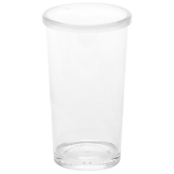 American Metalcraft 20 oz. Reusable Clear Plastic Tumbler with Lid PTL20 Main Image 1