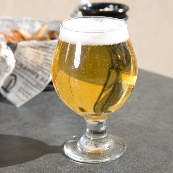 Libbey 3807 13 oz. Customizable Belgian Beer Glass - 12/Case