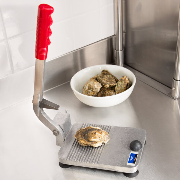 Vollrath 1853 Redco Oyster King Stainless Steel Specialty Oyster Shucker