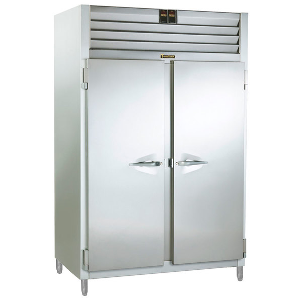 Traulsen RDH232WUT-FHS Stainless Steel Two Section Reach In Holding Cabinet / Refrigerator - Specification Line