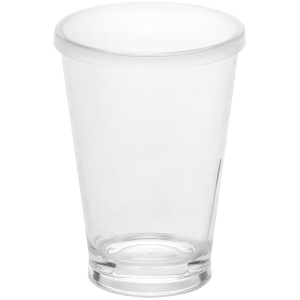 American Metalcraft 14 oz. Reusable Clear Plastic Tumbler with Lid PTL14 Main Image 1