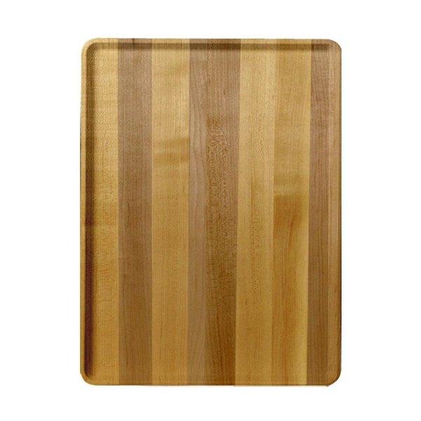 "Cambro 1520D303 15"" x 20"" Light Butcher Block Wood-Look Dietary Tray - 12/Case"
