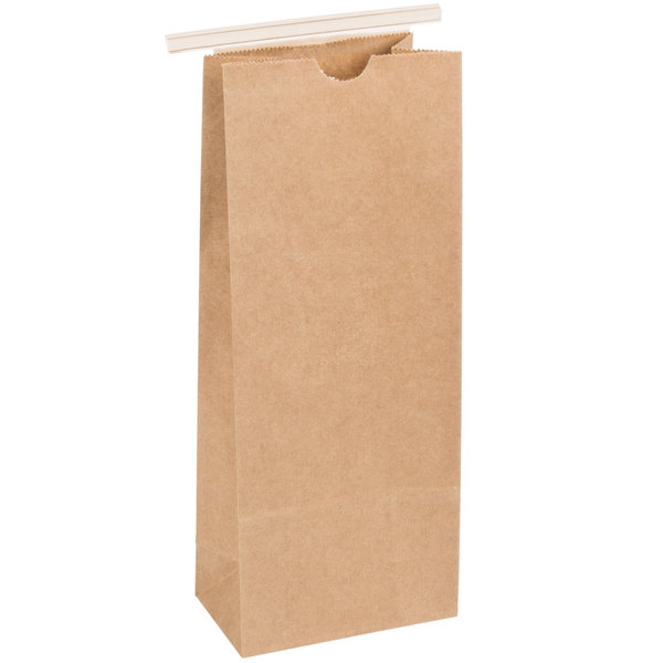 Resealable Kraft Tin Tie Poly-Lined Bags Coffee Bags Reclosable Tin Tie Bags with Window 1//2 Lb 50 Pack