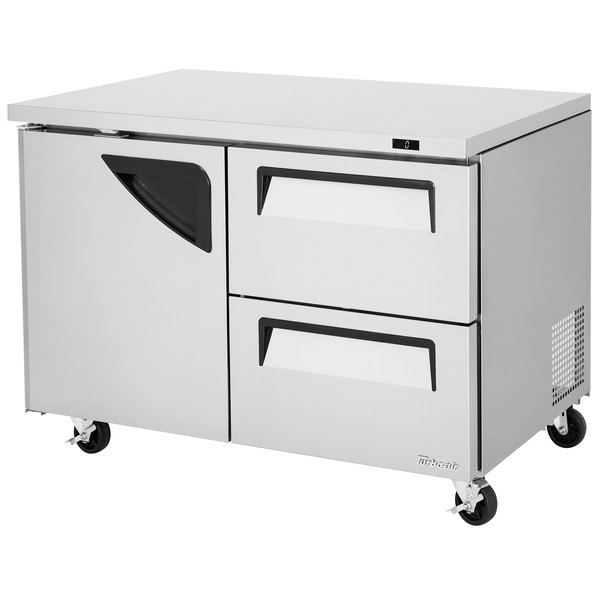 d hc w undercounter tuc cu freezer ft sections true drawers