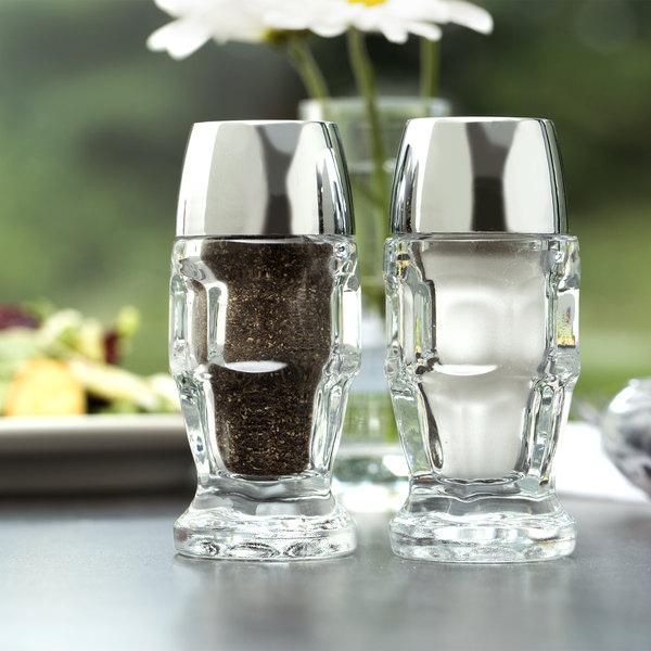 Libbey 5221 1.25 oz. Salt and Pepper Shaker - 24/Case