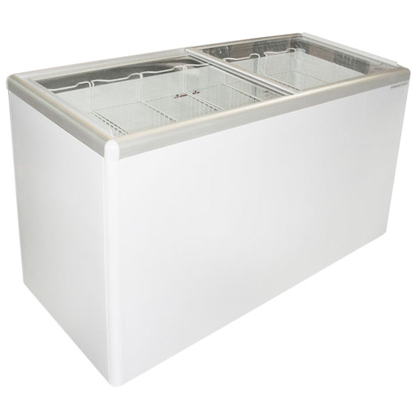 Excellence EURO-16HC Ice Cream Flat Top Flat Lid Display Freezer - 15.5 cu. ft.