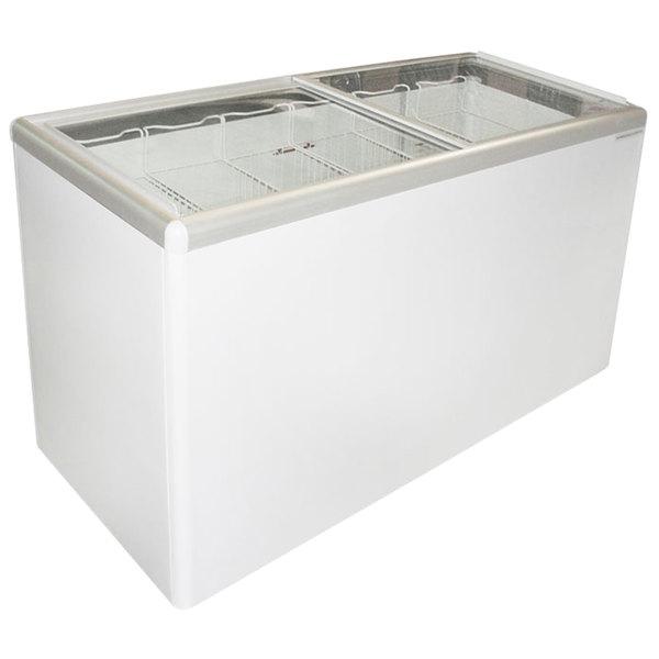Excellence EURO-16 Ice Cream Flat Top Flat Lid Display Freezer - 15.5 cu. ft.