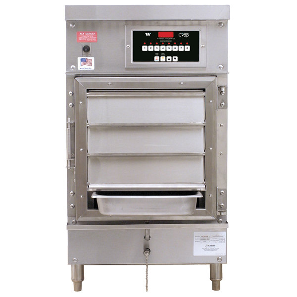 Winston Industries HA8503-04 CVAP Half Size Holding Cabinet - 4 Universal Bins, 120V