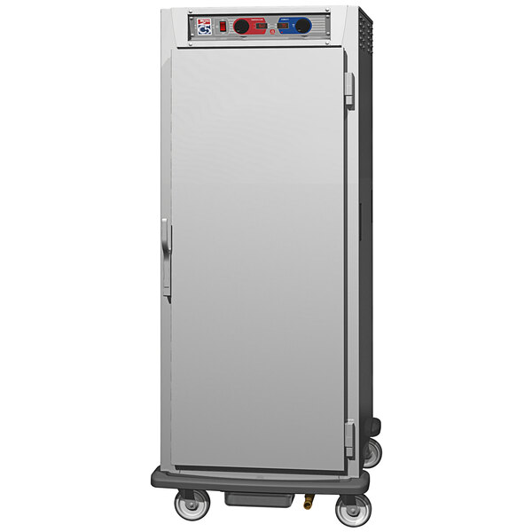 Metro C5 9 Series C599L-SFS-UPFC Full Size Insulated Low Wattage Pass-Through Holding Cabinet with Solid Door and Chrome Universal Slides Main Image 1