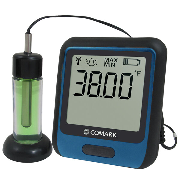 Comark Diligence Wi-Fi Temperature Data Logger with Glycol Buffer Probe RF312GLYCOL Main Image 1