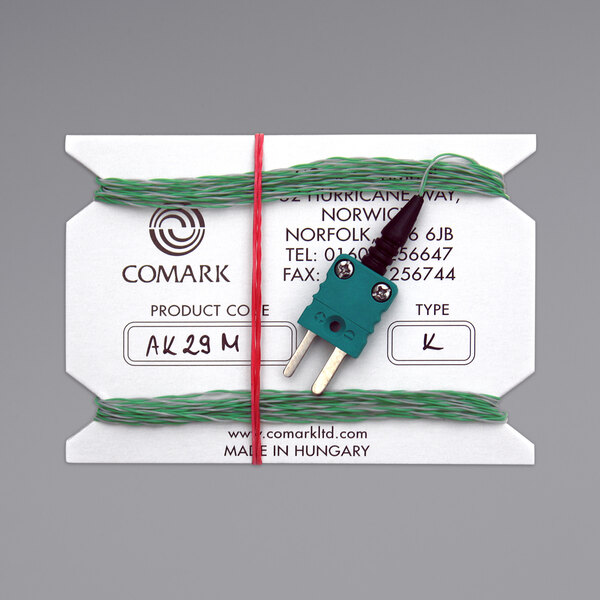 """Comark Type-K Flexible Wire Air Probe with 197"""" Cable AK29M Main Image 1"""