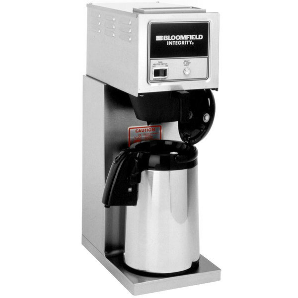 Bloomfield 8774-A Integrity Pourover Airpot Coffee Brewer, 120V; 1500W Main Image 1