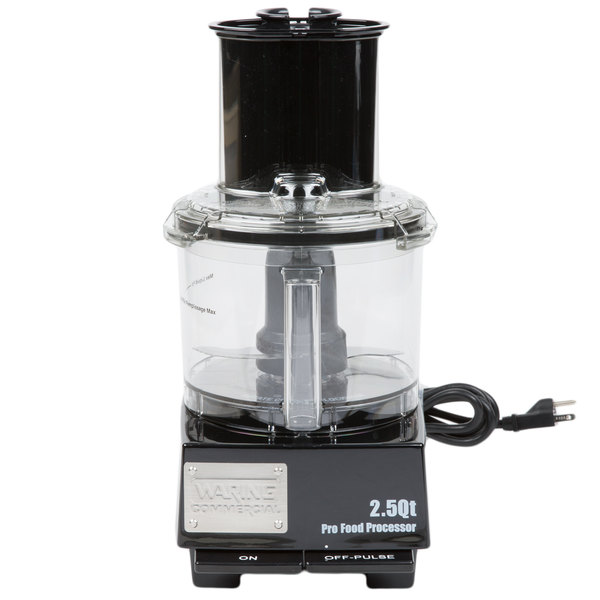 Waring FPC14 Commercial Food Processor with 2.5 Qt. Bowl - 1/2 hp