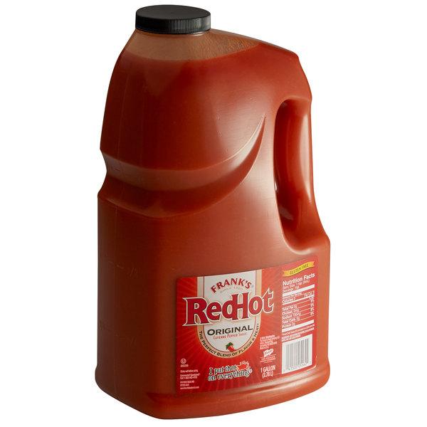 Frank's RedHot 1 Gallon Original Hot Sauce - 4/Case Main Image 1
