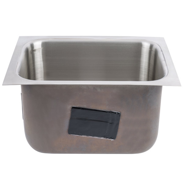 """Advance Tabco 1014A-10 1 Compartment Undermount Sink Bowl 10"""" x 14"""" x 10"""""""