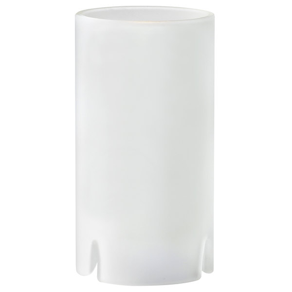 """Sterno Products 80122 Nikola 4 1/2"""" Frosted Round Glass Liquid Candle Holder"""