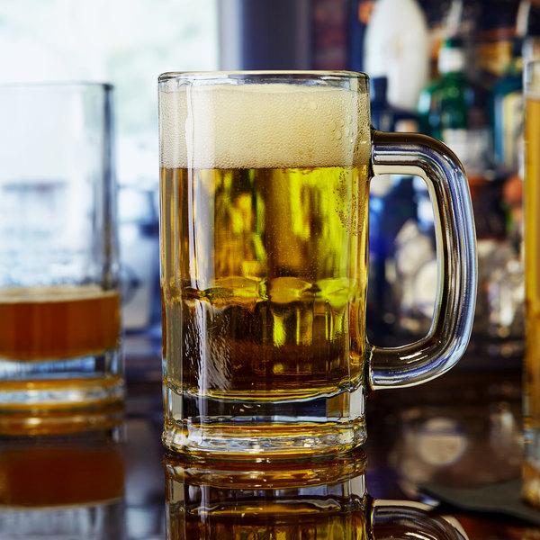 Anchor Hocking 1816 16 oz. Beer Mug - 24/Case