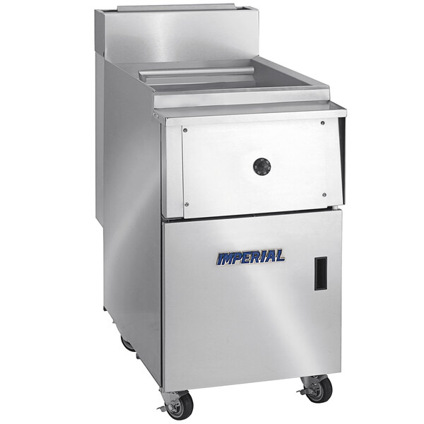 Imperial Range IPC-18 Natural Gas 16 Gallon Pasta Cooker with Basket Rack Main Image 1