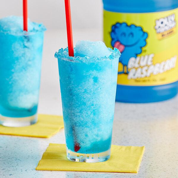 Jolly Rancher 1/2 Gallon Blue Raspberry Slushy 5:1 Concentrate - 6/Case Main Image 2