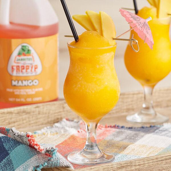 Jarritos 1/2 Gallon Mango Slushy 5:1 Concentrate - 6/Case Main Image 2