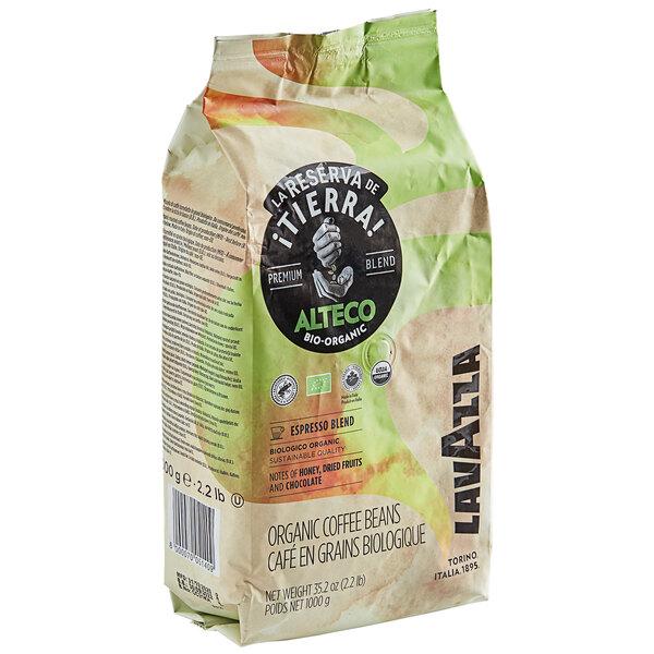 Lavazza Organic Tierra! Alteco Whole Bean Espresso 2.2 lb. Main Image 1